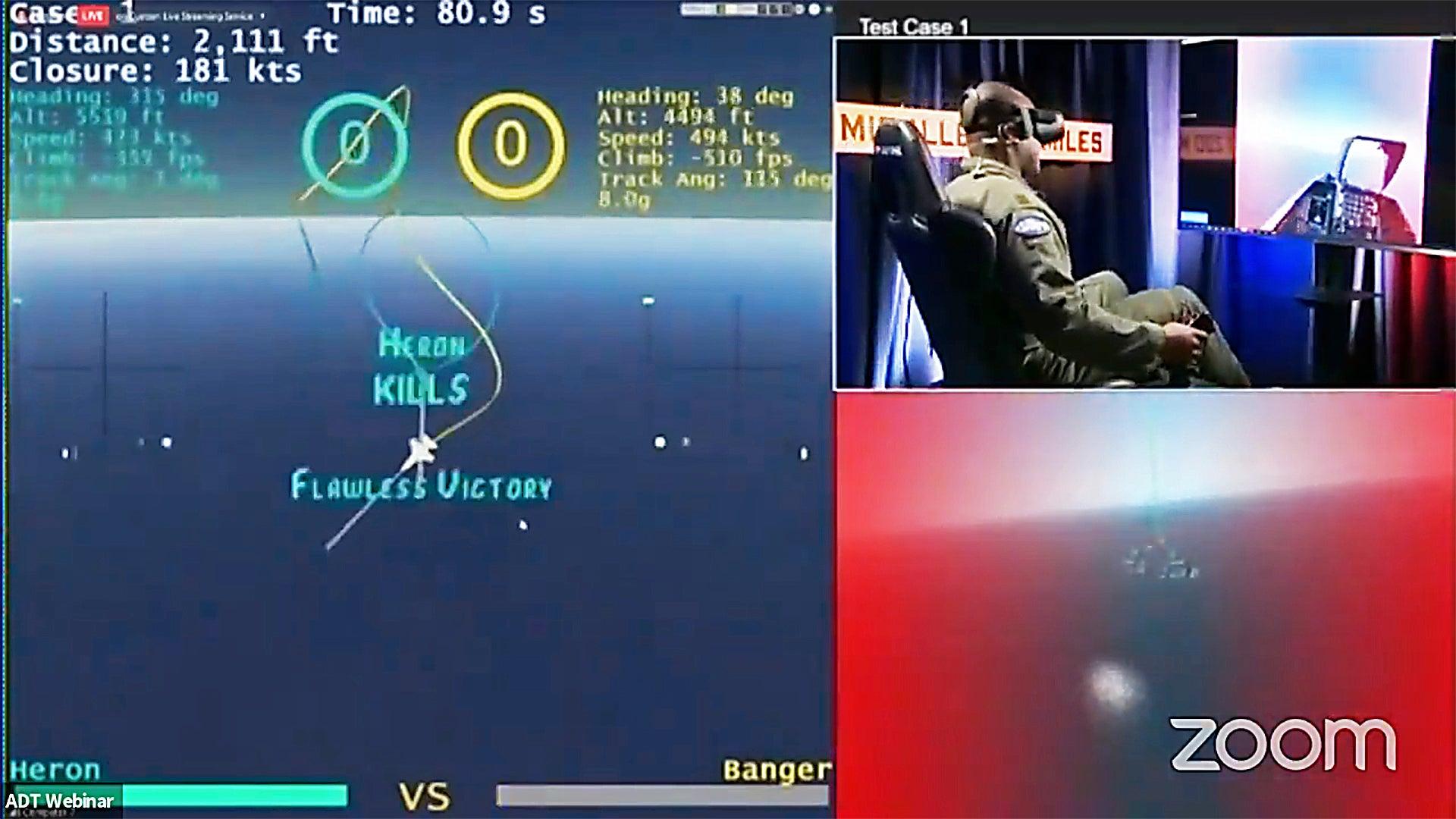5∶0!人工智能大胜美军顶尖飞行员